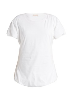 Marni Bubble-sleeve cotton T-shirt