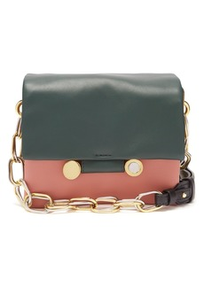 Marni Cady tri-colour leather shoulder bag
