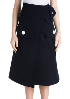 Marni Cargo Pocket Wrap Skirt