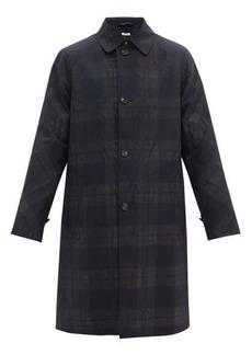 Marni Checked wool raincoat