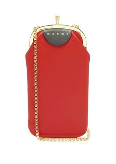 Marni Chinese New Year leather phone bag