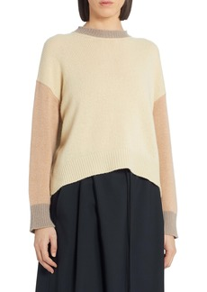Marni Colorblock Cashmere Sweater