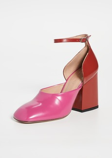 Marni Colorblock Mary Jane Pumps