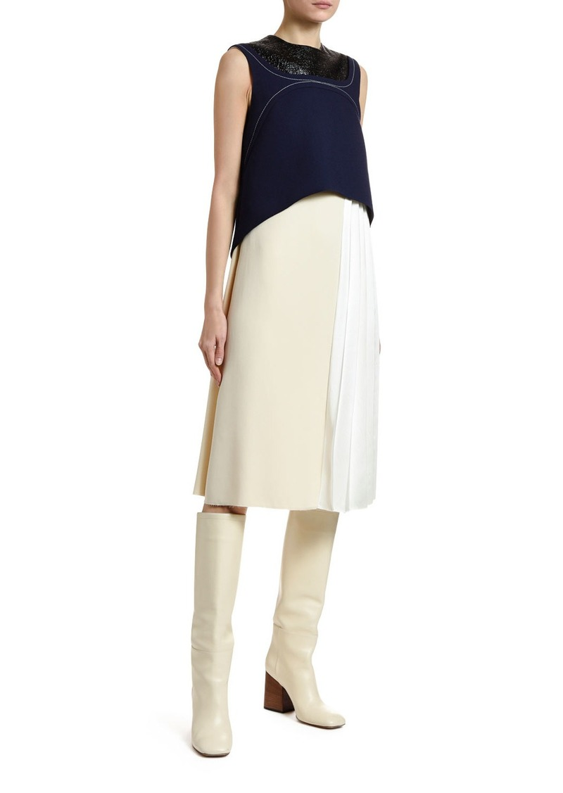 Marni Colorblocked Layered Dress