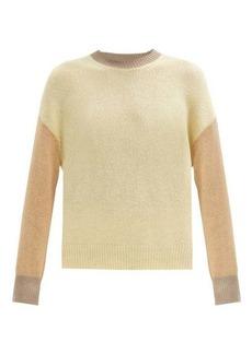 Marni Colour-block cashmere sweater