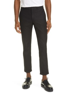 Marni Compact Cotton Twill Crop Trousers