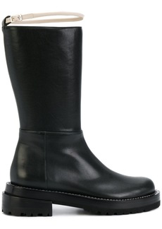 Marni contrast buckle boots - Black