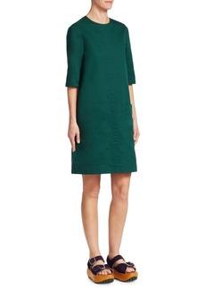 Marni Cotton Drill Shift Dress