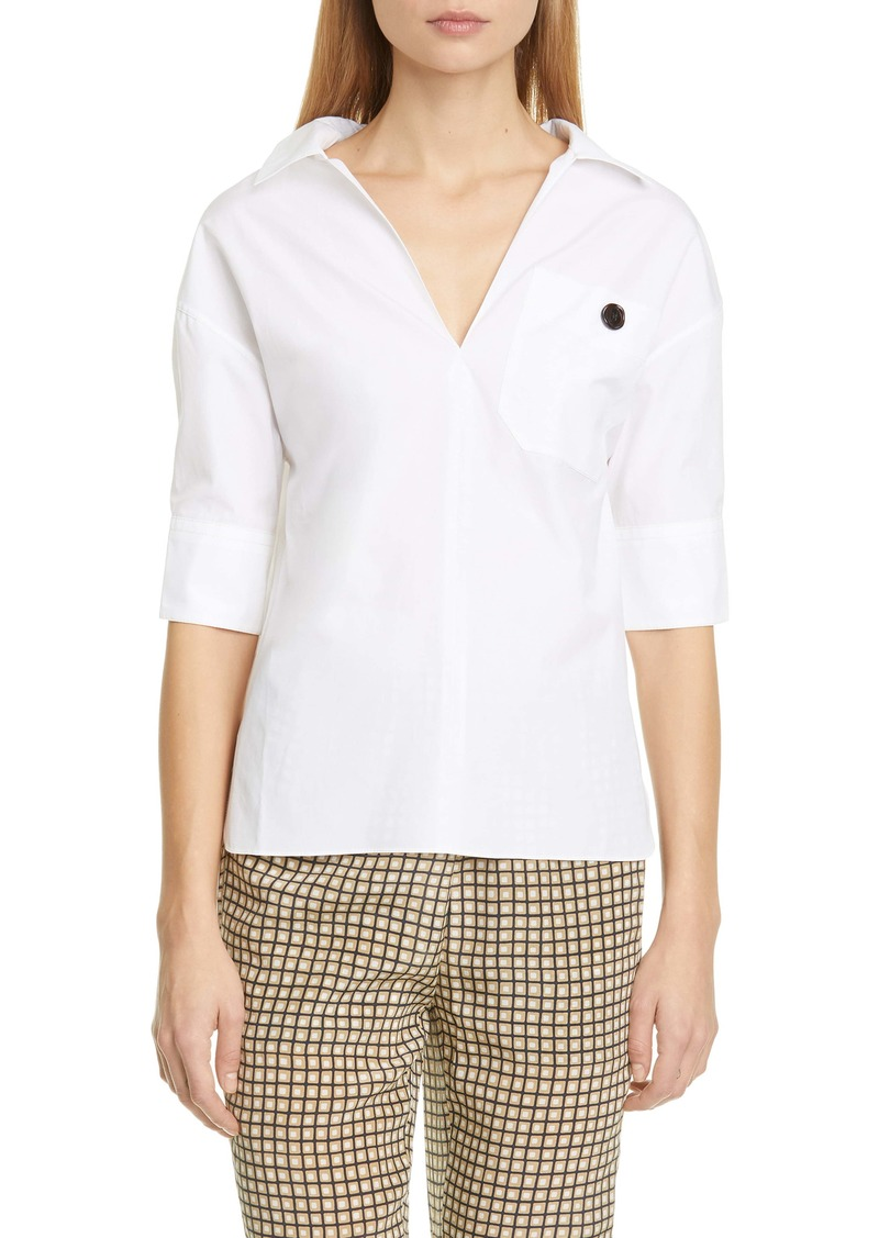 Marni Cotton Poplin Polo