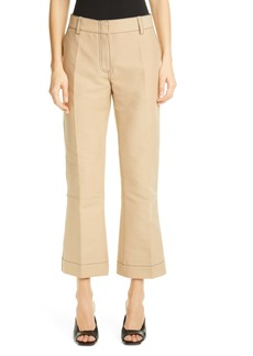 Marni Crop Flare Cotton Pants