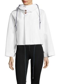 Marni Cropped Hooded Jacket