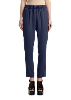 Marni Cropped Side-Stitched Pants