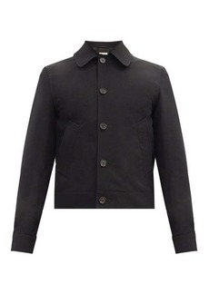 Marni Cropped wool-twill jacket