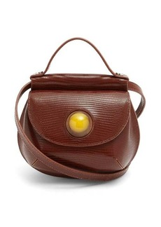 Marni Cyclops resin-sphere leather cross-body bag