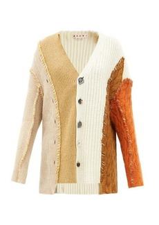 Marni Deconstructed wool-blend cardigan