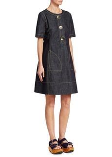 Marni Denim Button Dress