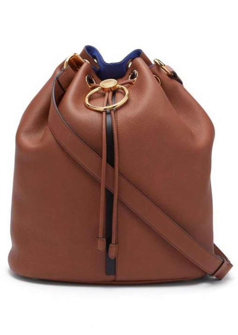 Marni Earring medium leather shoulder bag