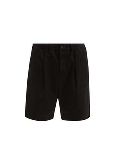 Marni Elasticated-waist cotton shorts