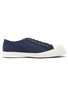 Marni Exaggerated sole low-top canvas trainers