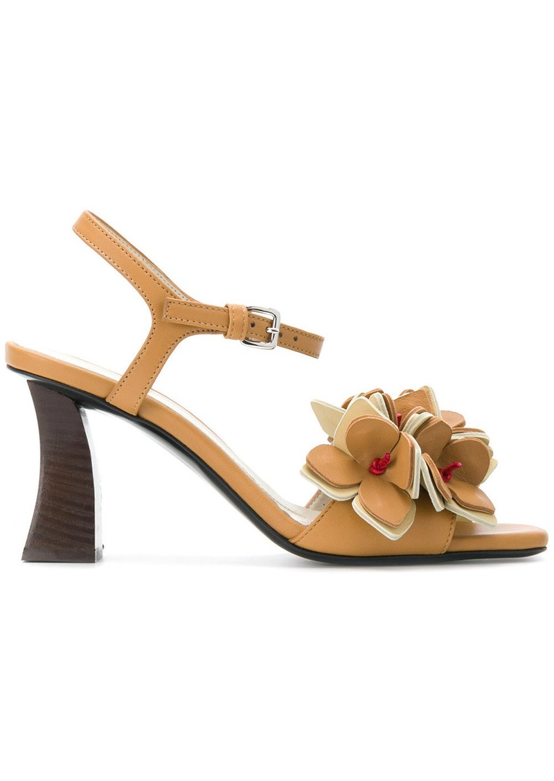 Cheap Affordable Big Discount Online floral applique sandals - Nude & Neutrals Marni esGzHeFmW
