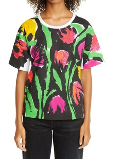 Marni Floral Graphic Cotton Tee