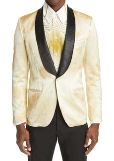 Marni Floral Sateen Jacquard Jacket