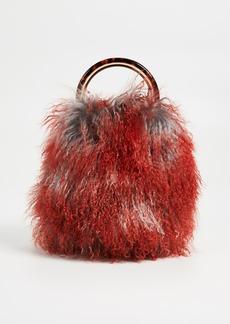 Marni Fluffy Circle Top Shoulder Bag