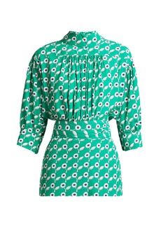 Marni Freedom daisy-print poplin blouse