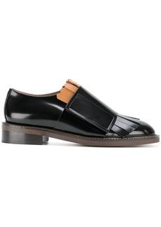 Marni Fringe strap loafers - Black