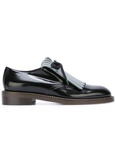 Marni fringed loafers - Black