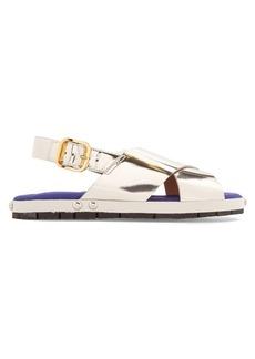 Marni Fusbett leather sandals