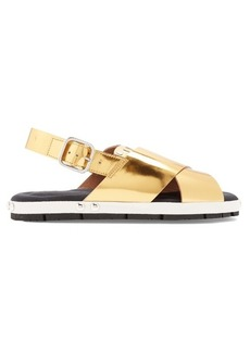 Marni Fusbett slingback leather sandals