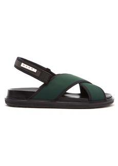 Marni Fussbett crossover-strap technical sandals