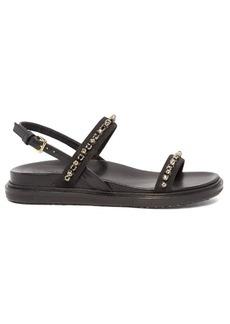 Marni Fussbett crystal-embellished suede sandals