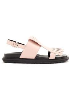 Marni Fussbett fringed leather sandals