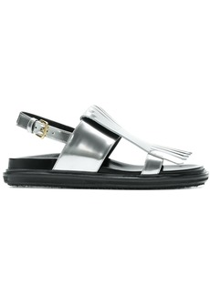 Marni Fussbett fringed sandals