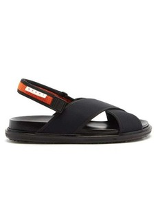 Marni Fussbett technical-canvas sandals