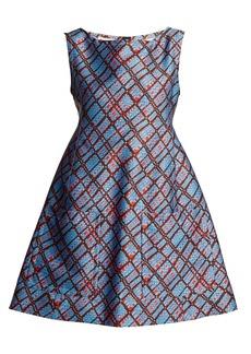 Marni Geometric-print sleeveless dress