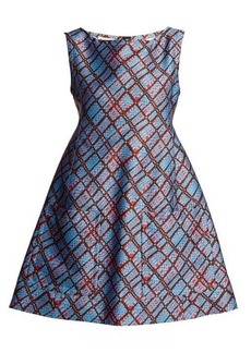 Marni Geometric-print sleeveless dress