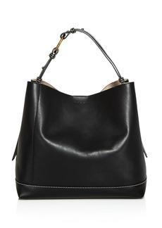 Marni Halo Pod Leather Shoulder Bag