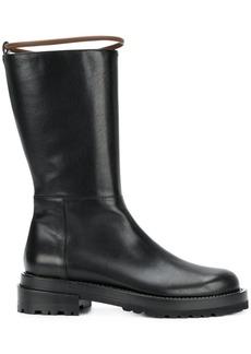 Marni harness strap mid-calf boots - Black