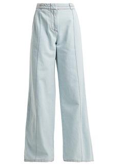 Marni High-rise flared denim jeans