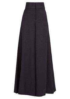 Marni High-rise wide-leg twill trousers