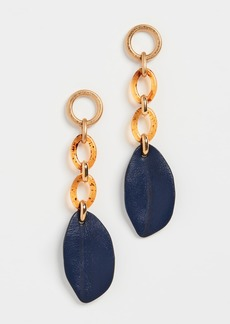 Marni Leather and Resin Earrings