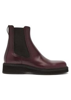 Marni Leather chelsea boots