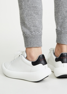 Marni Low Platform Lace Up Sneakers
