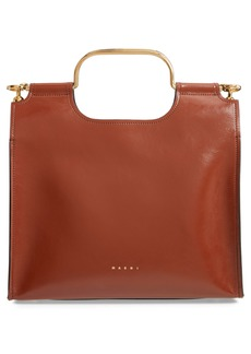 Marni Marcel Top Handle Leather Bag