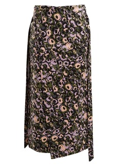 Marni Marken-print midi skirt