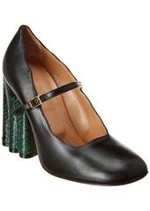 Marni Mary Jane Leather Pump
