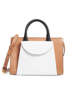 Marni Medium Law Colorblock Top Handle Satchel